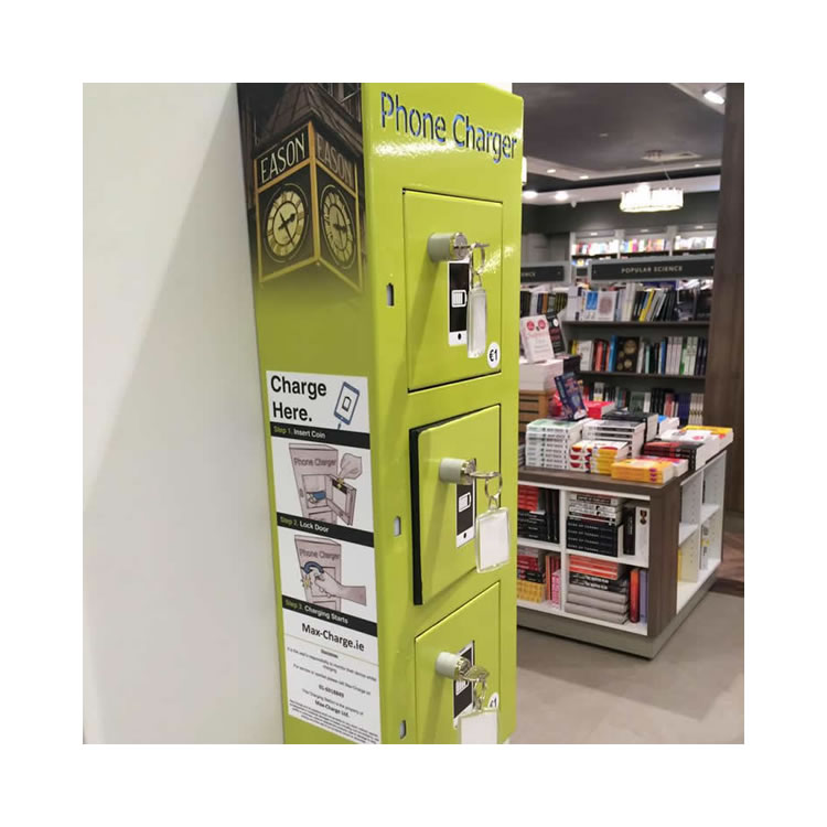 Max Charge - Branded phone charger secure lockers